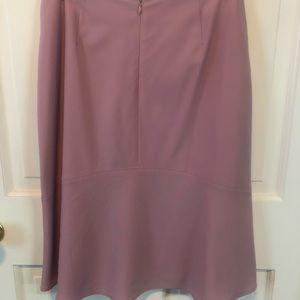 Ann Taylor A-line Dusty Pink Skirt